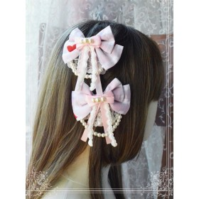 Magic Tea Party Flowers And Birds Poetry Series Hair Pins