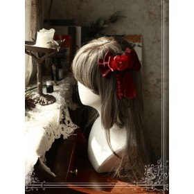Magic Tea Party Beauty And Beast Series Printing Lace Headdress