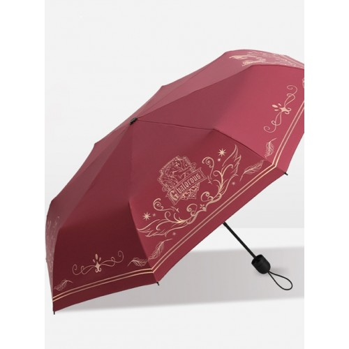 Harry Potter Theme Printing Gryffindor Or Slytherin Classic Lolita Folding Umbrella