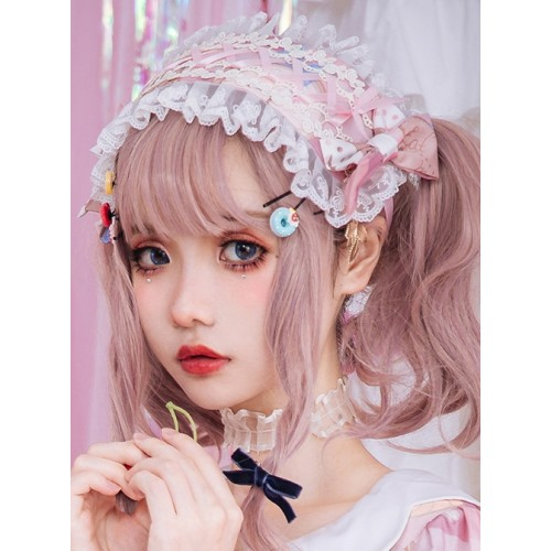 Milk Sweetheart Series Printing Sweet Lolita Hairband