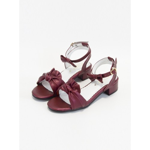 Elegant Lovely Bowknot Classic Lolita Low-heel Sandals