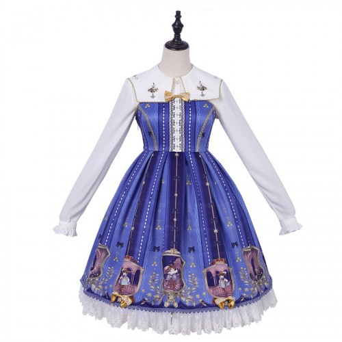 The Three Musketeers Sweet Lolita Jumper Skirt