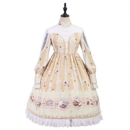 Soft Pancake Sweet Lolita One-Piece Dress